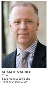 Photo of Adam D. Warner - Chair - Equipment Leasing and Finance Association