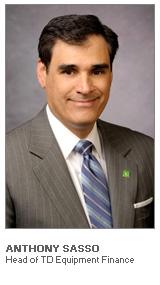 Anthony Sasso - President – Head of TD Equipment Finance
