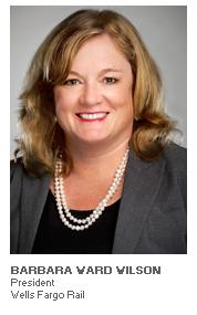 Photo of Barbara Ward Wilson - President - Wells Fargo Rail