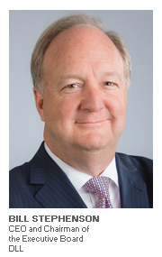 Photo of Bill Stephenson - CEO and Chairman of the Executive Board - DLL