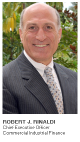 Photo of Robert J. Rinaldi - Chief Executive Officer - Commercial Industrial Finance