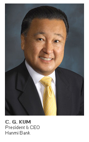 Photo of C. G. Kum - President & CEO - Hanmi Bank