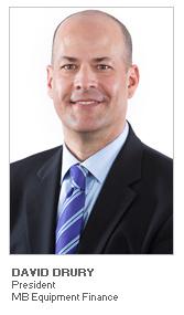 Photo of David Drury - President - MB Equipment Finance