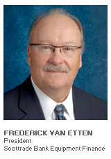 Photo of Frederick Van Etten - President - Scottrade Bank Equipment Finance