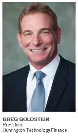 Photo of Greg Goldstein - President - Huntington Technology Finance