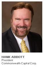 Photo of Hank Abbott - President - Commonwealth Capital Corp