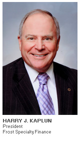 Photo of Harry Kaplun - President - Frost Specialty Finance
