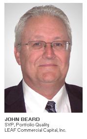 Photo of John Beard - SVP, Portfolio Quality - LEAF Commercial Capital, Inc.