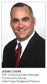 Photo of John Crum - SVP & National Sales Manager – Construction Group - Wells Fargo Equipment Finance