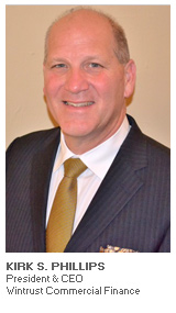 Photo of Kirk S. Phillips - President & CEO - Wintrust Commercial Finance
