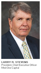 Photo of Larry R. Stevens - President, Chief Executive Officer - Med One Capital