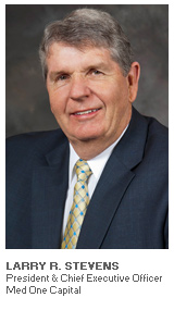 Photo of Larry Stevens - President and Chief Executive Officer - Med One Capital