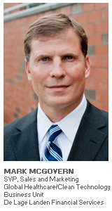 Photo of Mark McGovern - SVP Sales and Marketing - De Lage Landen Financial Services