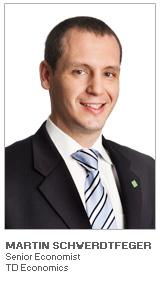 Martin Schwerdtfeger - Senior Economist – TD Economics