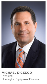 Photo of Michael DiCecco - President - Huntington Equipment Finance