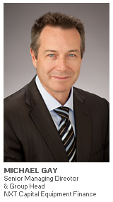 Photo of Michael Gay - Senior Managing Director & Group Head - NXT Capital Equipment Finance
