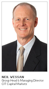 Photo of Neil Wessan - Group Head & Managing Director - CIT Capital Markets