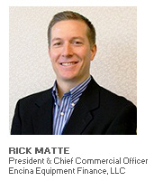 Photo of Rick Matte - President & Chief Commercial Officer - Encina Equipment Finance, LLC