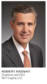 Photo of Robert Radway - Chairman and CEO - NXT Capital LLC