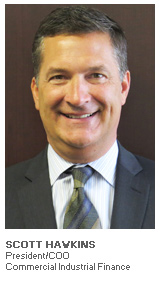 Photo of Scott Hawkins - President/COO - Commercial Industrial Finance
