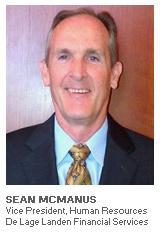 Photo of Sean McManus - Vice President, Human Resources - De Lage Landen Financial Services