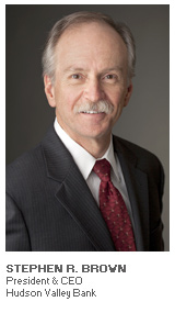 Photo of Stephen R. Brown - President and CEO - Hudson Valley Bank