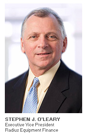 Photo of Stephen J. O'Leary - Executive Vice President - Radius Equipment Finance