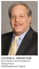 Photo of Steven A. Orenstein - First Senior Vice President & Group Head - HVB Equipment Capital