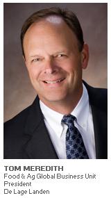 Photo of Tom Meredith - Food & Ag Global Business Unit President - De Lage Landen