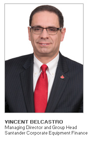 Photo of Vincent Belcastro - Managing Director and Group Head - Santander Corporate Equipment Finance