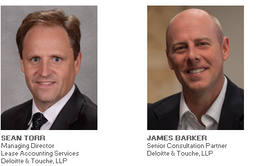 Photos of Sean Torr and James Barker of Deloitte & Touche, LLP