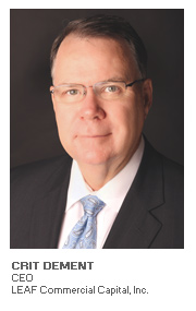 Photo of Crit DeMent, CEO, LEAF Commercial Capital, Inc.
