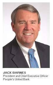 Photo of Jack Barnes - President and Chief Executive Officer - People's United Bank