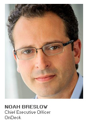 Photo of Noah Breslow - Chief Executive Officer - OnDeck