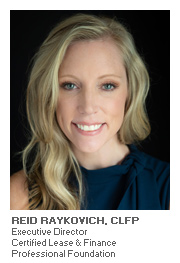 Equipment Finance with Reid Raykovich, CLFP - Executive Director - Certified Lease & Finance Professional Foundation